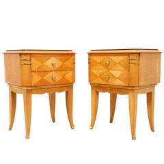 French Art Deco Bedside Chests