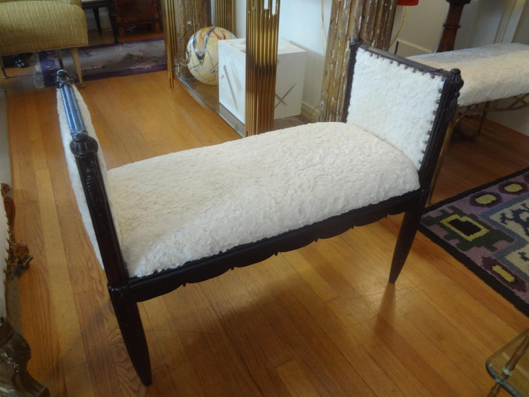 French Art Deco Bench Inspired by Dominique For Sale 4