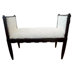 French Art Deco Bench Inspired by Dominique