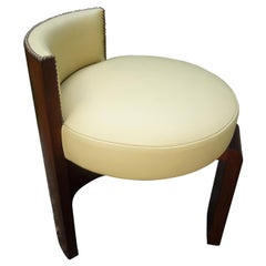 French Art Deco Bench or Stool Attributed to Francisque Chaleyssin