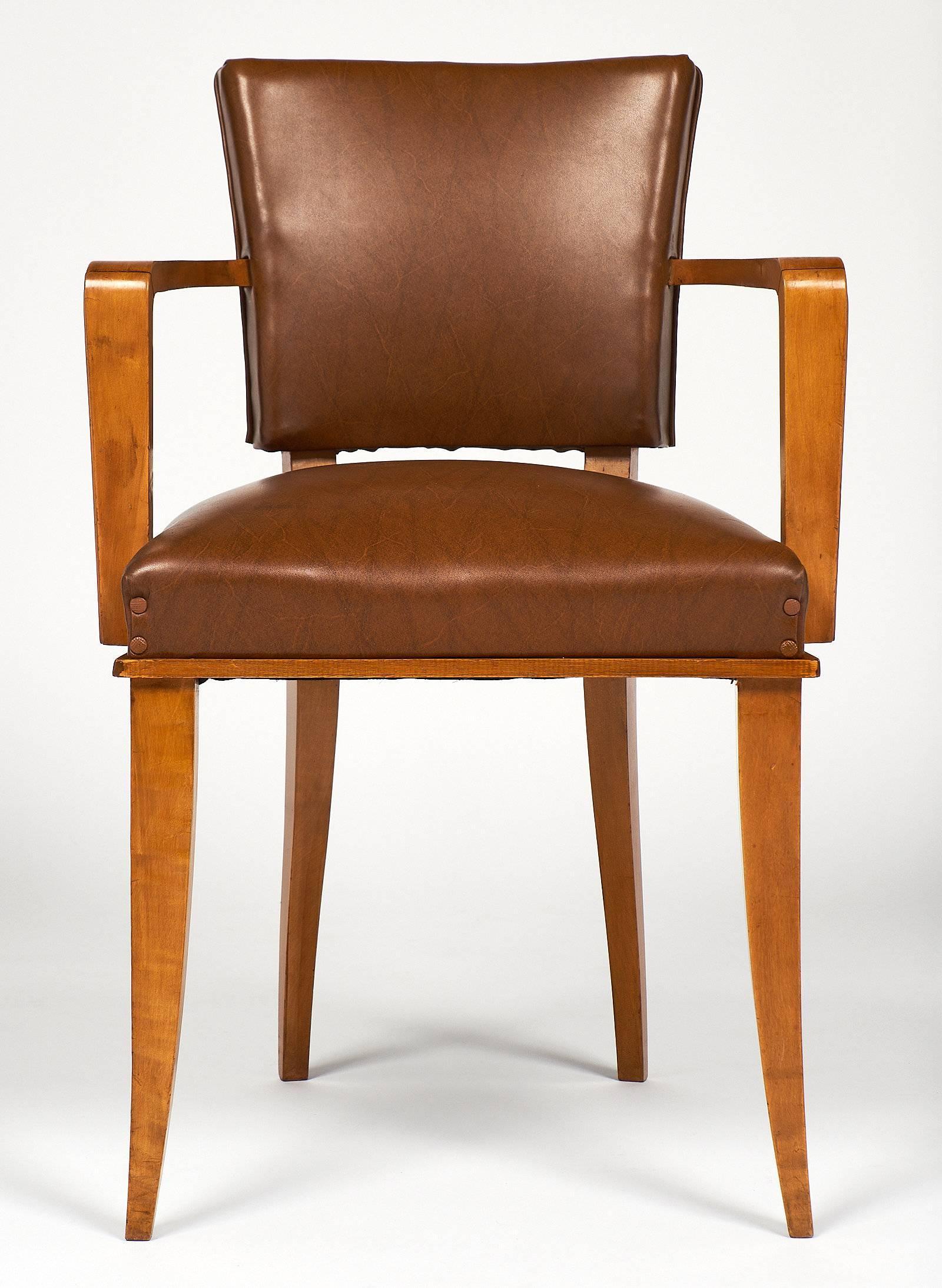 French Art Deco Bridge Chairs At 1stdibs