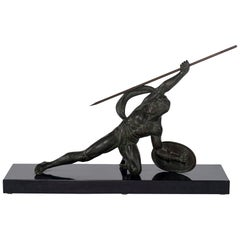 French Art Deco Bronze Figure