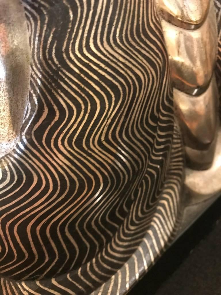 French Art Deco Bronze Sculpture Signed by Jules Delabasse For Sale 8