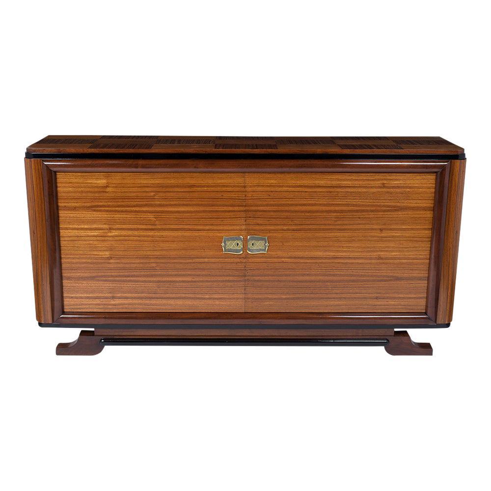 Lacquered Art Deco Credenza