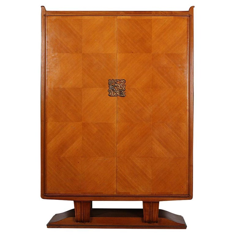 French Art Deco Cabinet For Sale