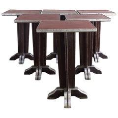 French Art Deco Café Tables