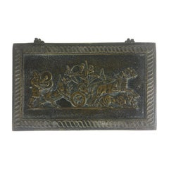 French Art Deco Cast Bronze Jewelry Box or Desk Accessory by Max Le Verrier