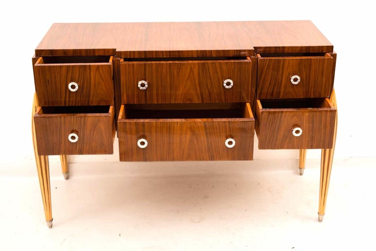 French Art Deco Chest of Drawer or Commode, 1930 For Sale 6