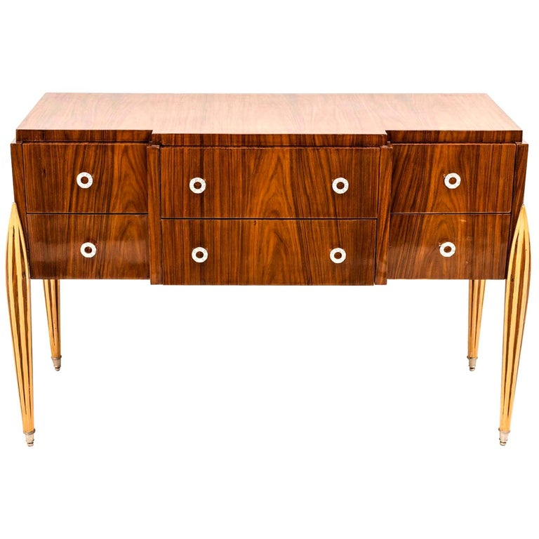 French Art Deco Chest of Drawer or Commode, 1930 For Sale