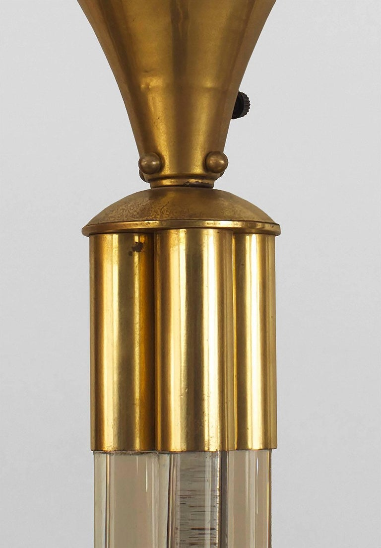French Art Deco, circa 1930, Floor Lamp In Good Condition For Sale In New York, NY