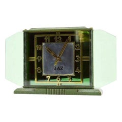 French Art Deco Clock by JAZ, 1930s