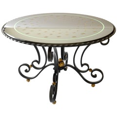 French Art Deco Coffee Table Attributed to Raymond Subes and Max Ingrand