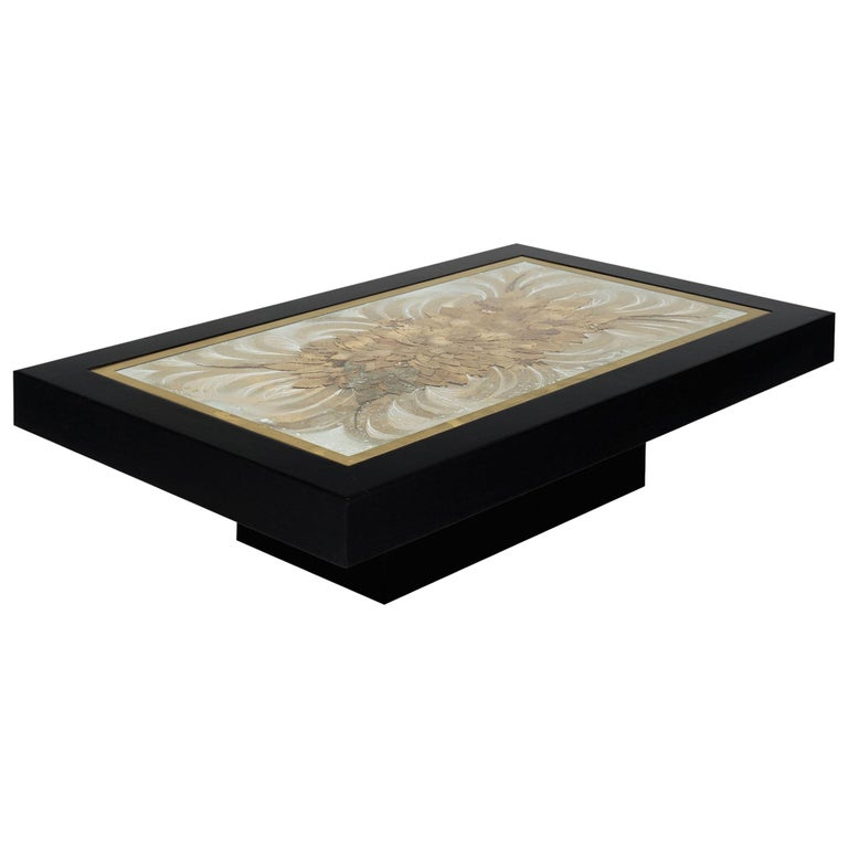 French Art Deco Coffee Table For Sale