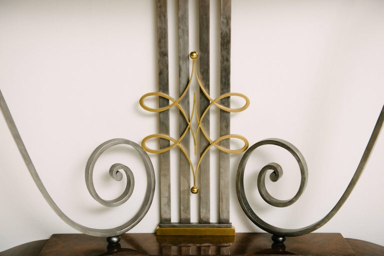 French Art Deco Console Table by Raymond Subes For Sale 1