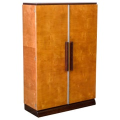 French Art Deco Cupboard by Mercier Frères
