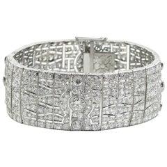 French Art Deco Diamond Bracelet