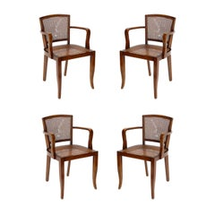 French Art Deco Dining Chairs