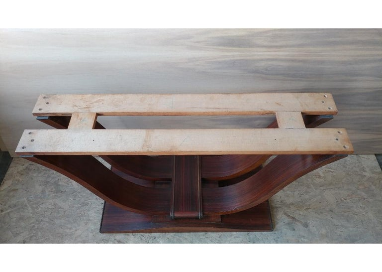 20th Century French Art Deco Dining Room Table or Desk For Sale