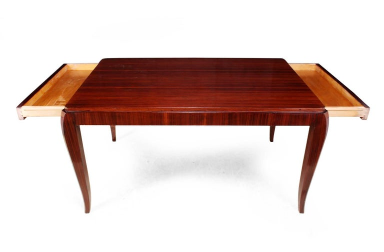 French Art Deco Dining Table, circa 1920 For Sale 1
