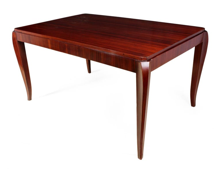French Art Deco Dining Table, circa 1920 For Sale 3