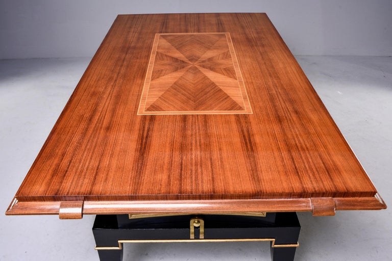 French Art Deco Dining Table For Sale 6