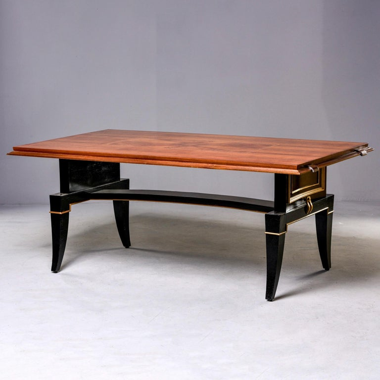 20th Century French Art Deco Dining Table For Sale