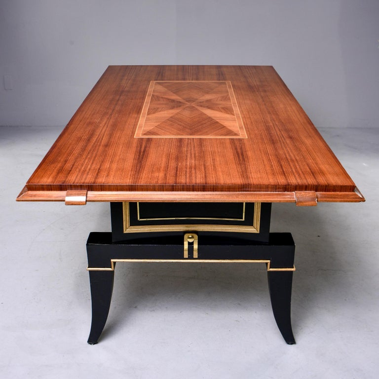 French Art Deco Dining Table For Sale 1