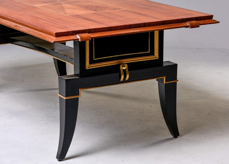 French Art Deco Dining Table For Sale 2