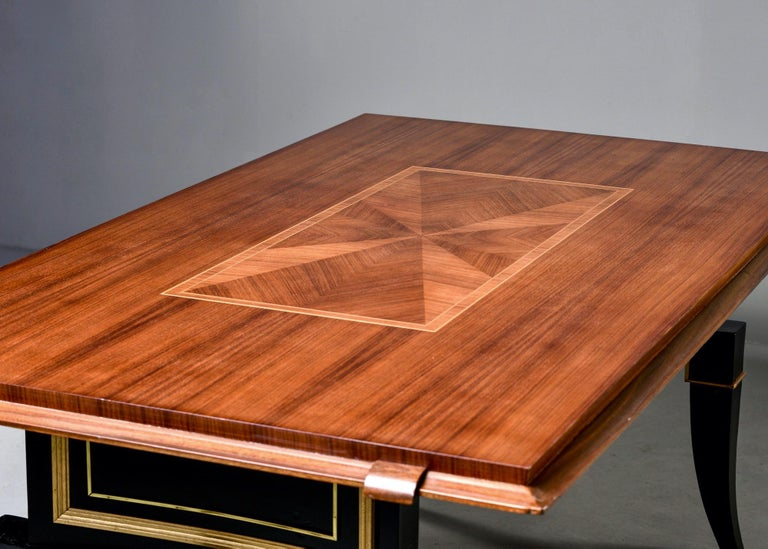 French Art Deco Dining Table For Sale 3