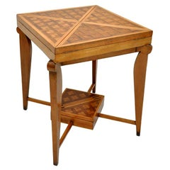 French Art Deco Envelope Game Table