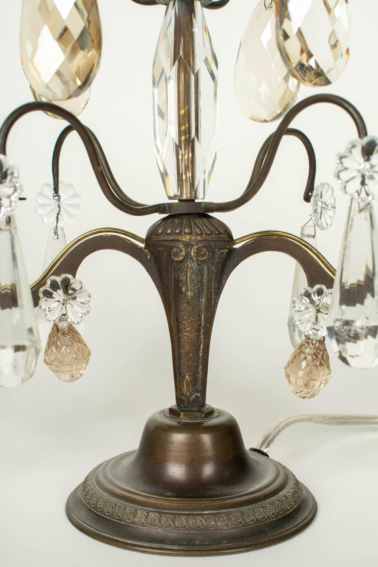 French Art Deco Girandole Lamps, a Pair For Sale 2