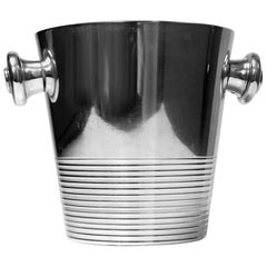 French Art Deco Ice Wine Bucket, circa 1935