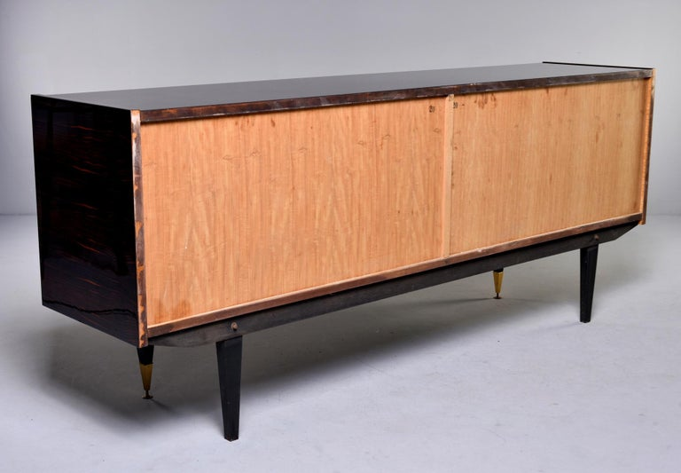French Art Deco Macassar Buffet or Sideboard For Sale 6
