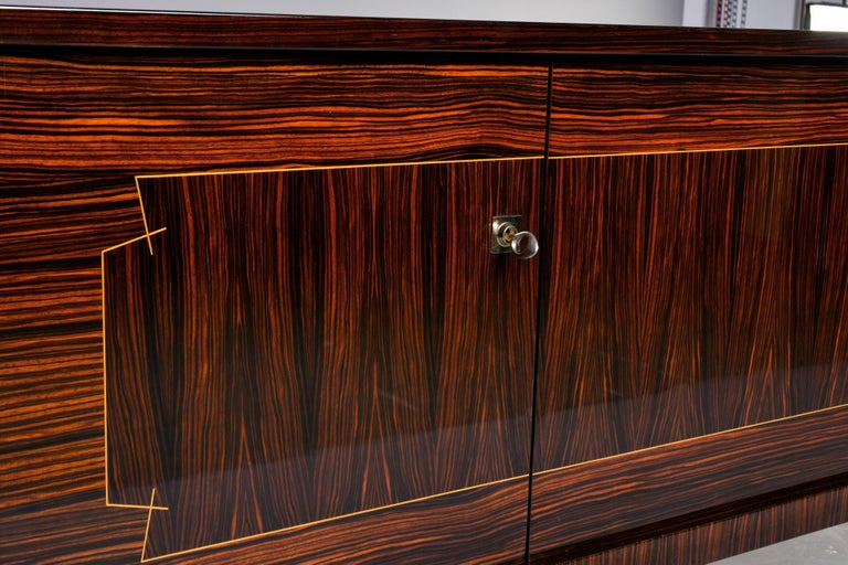 French Art Deco Macassar Buffet or Sideboard For Sale 3