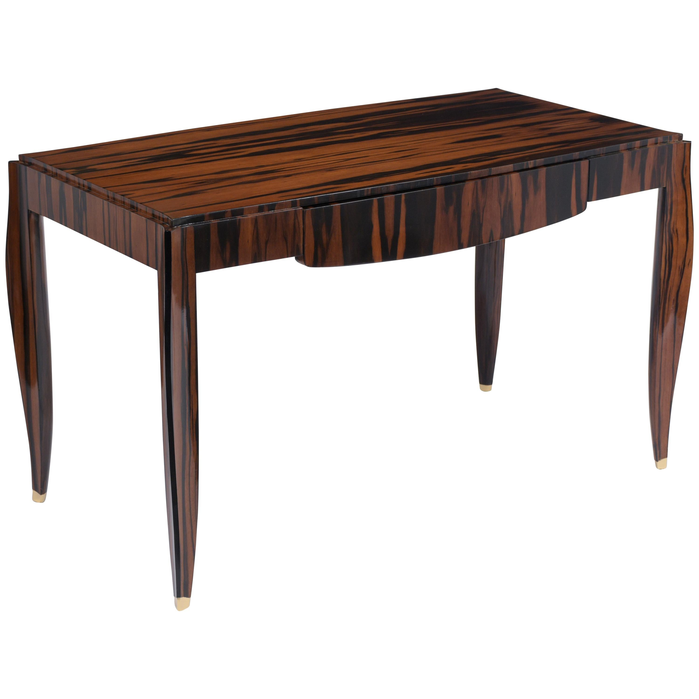 French Art Deco Macassar Desk