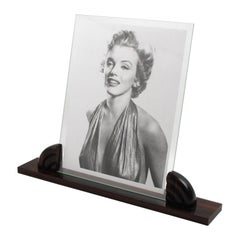 French Art Deco Macassar Wood Picture Frame