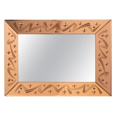 French Art Deco Mirror, c.1930