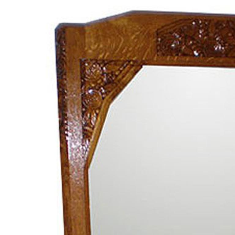 French Art Deco Mirror In Excellent Condition For Sale In Pompano Beach, FL