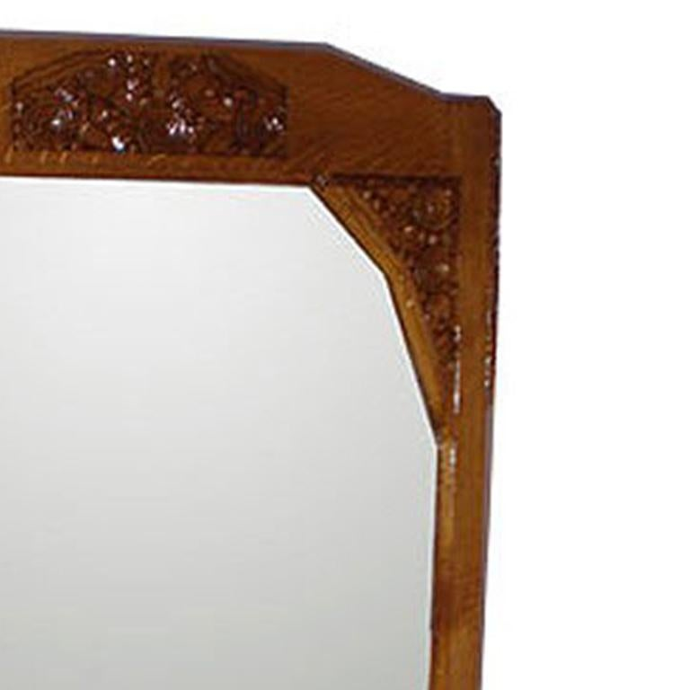 Mid-20th Century French Art Deco Mirror For Sale