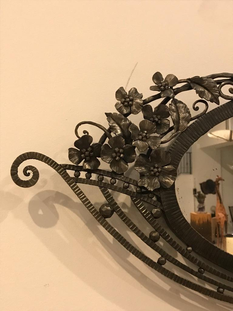 French Art Deco Mirror For Sale 1