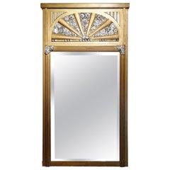 French Art Deco Mirror, France, circa 1930