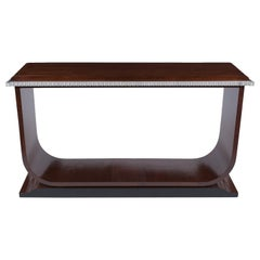 French Art Deco Modern Console