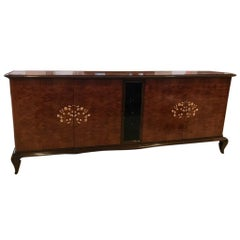 French Art Deco Mother-of-Pearl Style of Jules Leleu Sideboard or Buffet