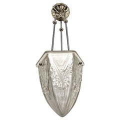 French Art Deco Pendant Chandelier
