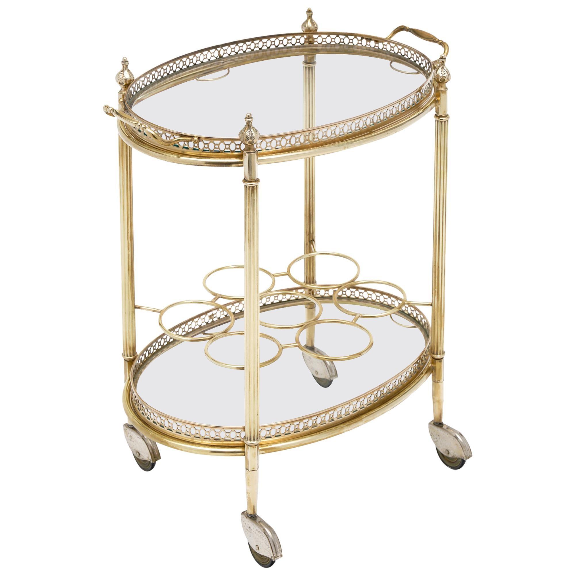 French Art Deco Period Bar Cart