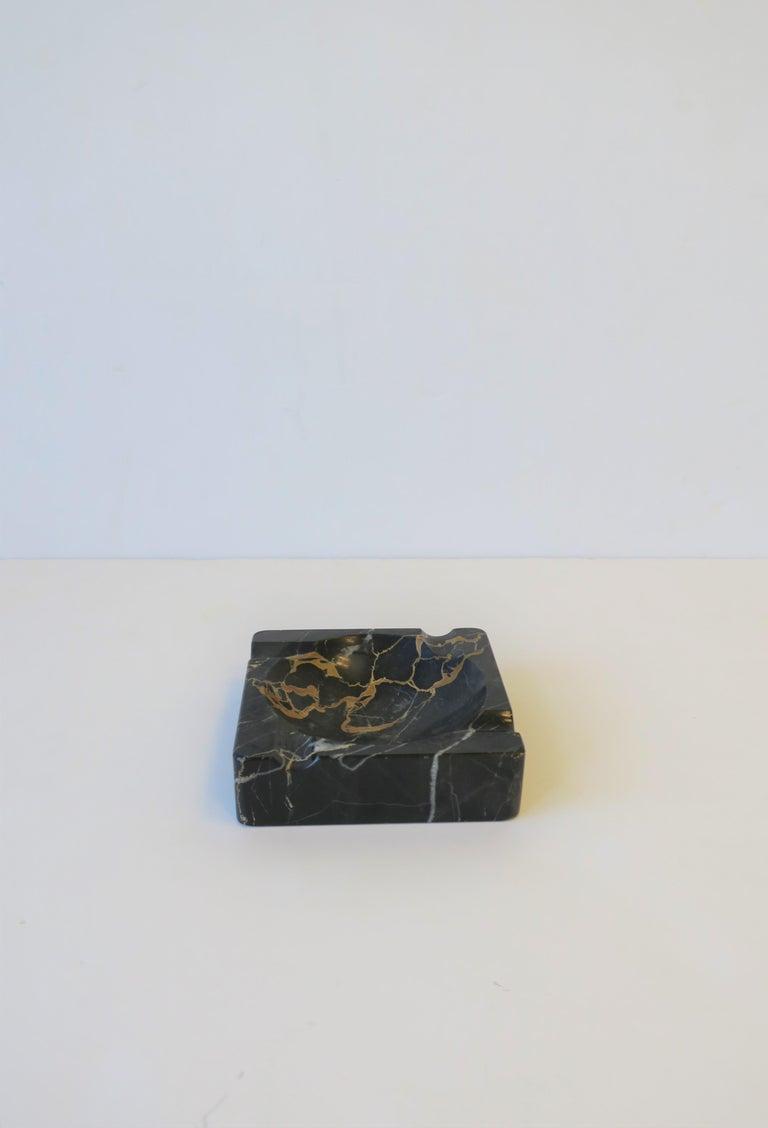 French Art Deco Period Black Marble Ashtray or Vide-Poche 7