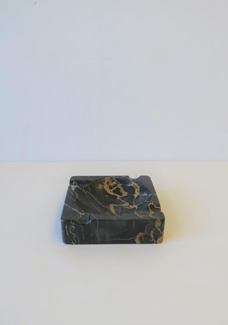 French Art Deco Period Black Marble Ashtray or Vide-Poche 10
