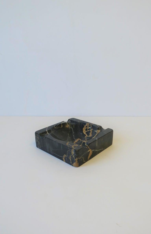 French Art Deco Period Black Marble Ashtray or Vide-Poche 11