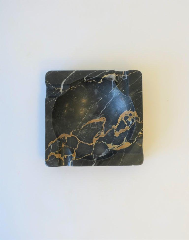 French Art Deco Period Black Marble Ashtray or Vide-Poche 3