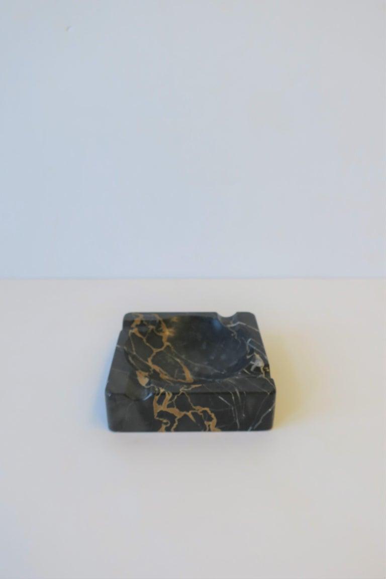 French Art Deco Period Black Marble Ashtray or Vide-Poche 5